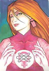 marker: Atom Eve by KidNotorious