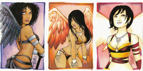 Charlies Angels by KidNotorious