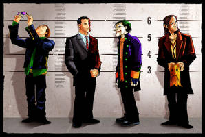 Arkhams Usual Suspects by KidNotorious