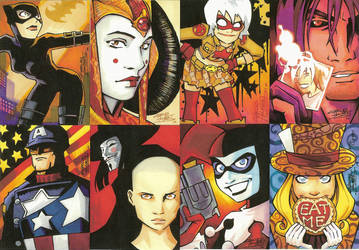 Attack of the Sketch Cards by KidNotorious