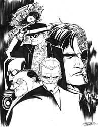 Gotham Villainy by KidNotorious