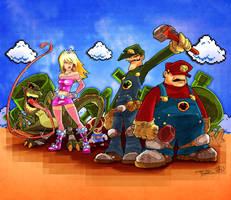 Mushroom Revolution by KidNotorious