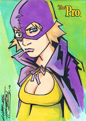 The Pro sketch card by KidNotorious