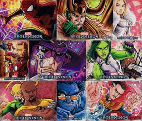 Marvel Beginnings 2 by KidNotorious