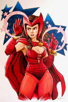 Scarlet Witch by KidNotorious