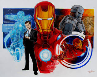Iron Man by KidNotorious