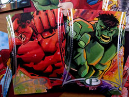Marvel Premier Hulk-Red Hulk by KidNotorious