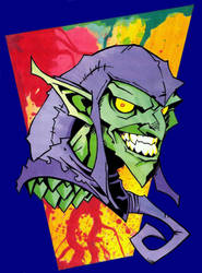 Green Goblin by KidNotorious