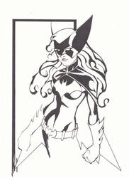 Batwoman Ink by KidNotorious
