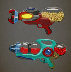 Pigments - Guns by Arashocky