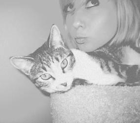 Kitty Kitty Bang Bang by Allison-W0nderland