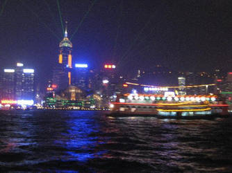 Hong Kong Island by Allison-W0nderland
