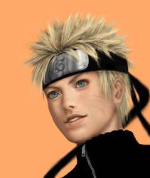 Uzumaki Naruto by iDNAR