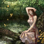 CG Girl 50 by iDNAR