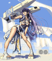 CG Girl 34 by iDNAR