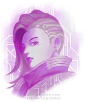 Sombra Purple Hack by luffie