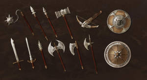 Dwarven Weapons Commission Batch by ShadowDragon22