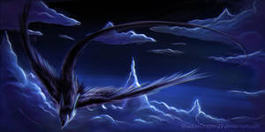 Soaring Through the Skies by ShadowDragon22