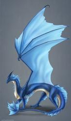 Leviathan Dragon Commission by ShadowDragon22
