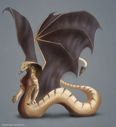 Apep Naga Commission by ShadowDragon22