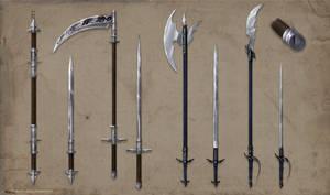 Alchemist Weapons Set Commission part 1 by ShadowDragon22