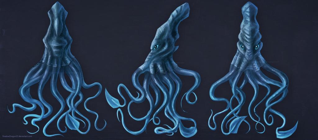 Kraken Commission by ShadowDragon22