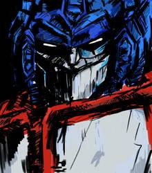 optimus prime by danyart84