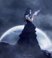 Beside the Moon by MariamMohammed