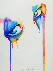 Colored Eye by MariamMohammed