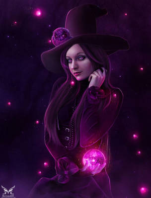 Beauty Witch by MariamMohammed