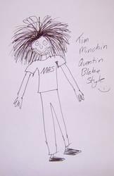 Tim Minchin by Spiddles