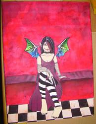 Dark Fairy by Spiddles