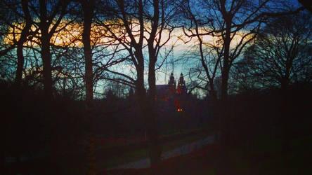Night in Glasgow -4- by IoannisCleary