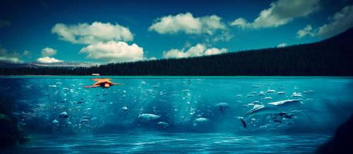 Underwater manipulation by HelloYou8D