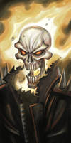 Ghost Rider by cruzarte