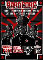 hardcore poster by albertoo