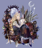 Good night, Moon! by SaigaTokihito