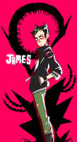 James (Warmup) by Krooked-Glasses