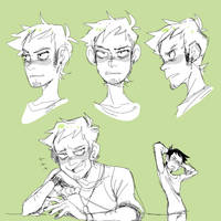 Sketchpage? James by Krooked-Glasses