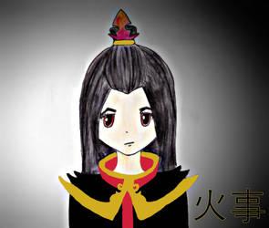 Azula's daughter by LoisVV