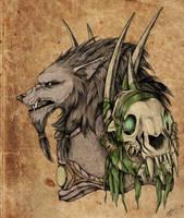 Worgen Rogue by LlamaTHEDragon