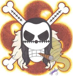 Crocodile Pirate-Emblem. by LoLoOw