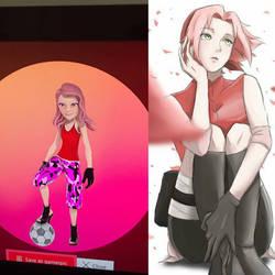 Sakura Haruno New Xbox Avatar  by BlazeSurvivor