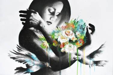 Flores by CarolCuibin
