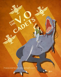 Commission. Voice Over Cadets by maioceaneyes