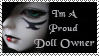 Proud Doll Owner Stamp by lajvio