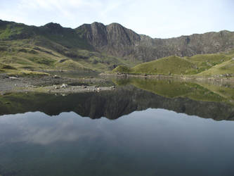 Up Snowdon by Saage2