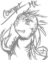 Monsterkid lil concept by RebelTigera