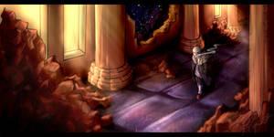 Judgement hall (Retale) by RebelTigera