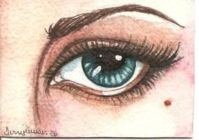 Eye aceo by artwoman3571